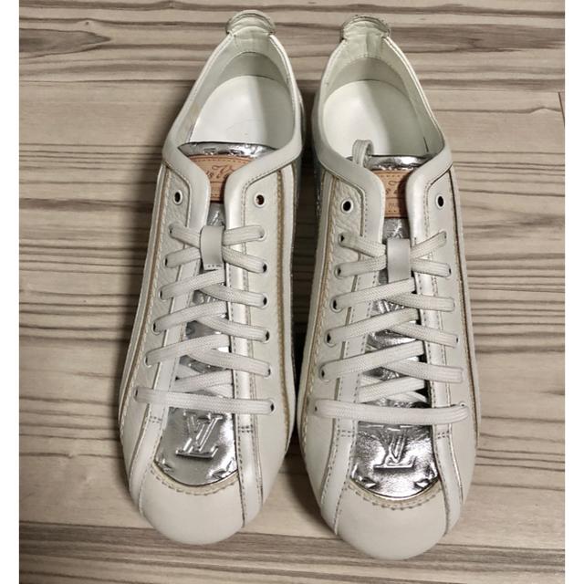 LOUIS VUITTON(ルイヴィトン)の値下げ!新品!未使用!ルイヴィトンレディーススニーカー レディースの靴/シューズ(スニーカー)の商品写真