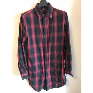 ギャルソンウェーブ(Garcon Wave)のタンバリン様専用  ロングシャツ チェックシャツ(シャツ)