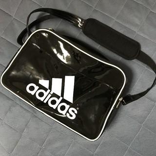 アディダス(adidas)のadidas アディダス スポーツバッグ ショルダー ボストン エナメル(ショルダーバッグ)