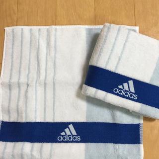 アディダス(adidas)のadidasタオルハンカチ(タオル/バス用品)