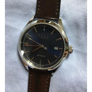 ノット(KNOT)のknot ノット 腕時計 AT-38SVNV(腕時計(アナログ))