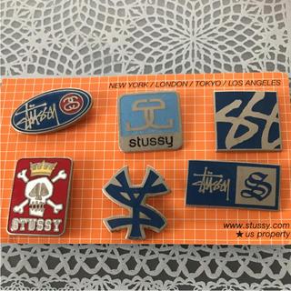 STUSSY - 【値下げ】STUSSY ピンバッヂ 6種類セット②