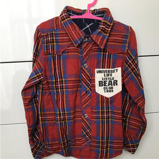 LITTLE BEAR CLUB - リバーシブルシャツ