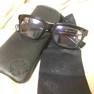 クロムハーツ(Chrome Hearts)のクロムハーツ メガネ eyewear  今市隆二 着用 ゴールド レア(サングラス/メガネ)
