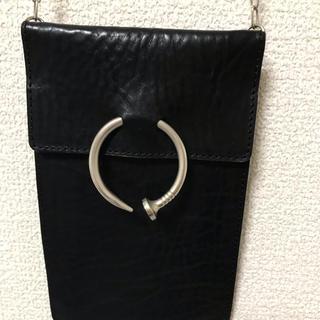 アンブッシュ(AMBUSH)のAMBUSH kugi leather bag(ショルダーバッグ)