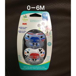 ディズニー(Disney)の国内未発売❗️0-6M NUK ミニーマウス おしゃぶり 2個セット(その他)