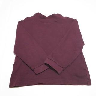 MUJI (無印良品) - 無印良品 タートルネックTシャツ。