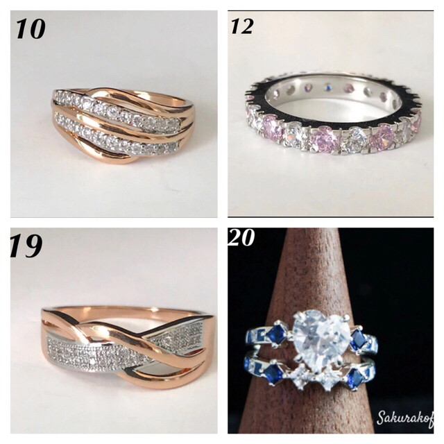 シェリー様専用(11/2) レディースのアクセサリー(リング(指輪))の商品写真