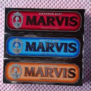 マービス(MARVIS)の最安値!マービス歯磨き粉75mlX3本セット 送料込!返品可!(歯磨き粉)