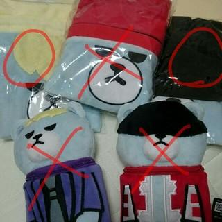 ビッグバン(BIGBANG)のKRUNK×BIGBANG 巾着袋2つセット(ランチボックス巾着)