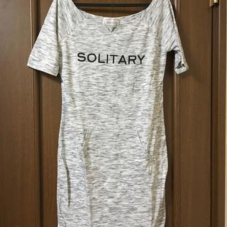 シマムラ(しまむら)のしまむら ロング丈Tシャツ(Tシャツ(半袖/袖なし))