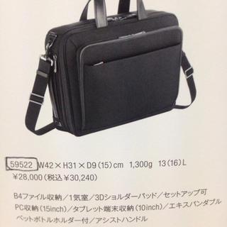 エースジーン(ACE GENE)のエースジーン EVL-3.0 定価30240円 使用1か月!値下げしました(ビジネスバッグ)