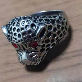 ジャガー リング シルバー レッドアイ(リング(指輪))