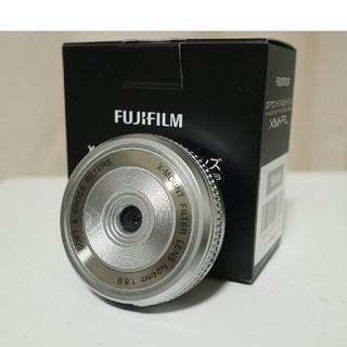富士フイルム - Xマウントフィルターレンズ XM-FL シルバー美品