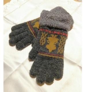 リトルミー(Little Me)のムーミン ミー 手袋(手袋)