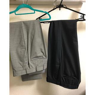 スーツパンツ 2着 5000円(スラックス/スーツパンツ)
