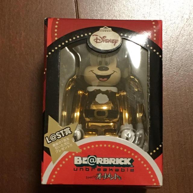 Disney(ディズニー)のベアブリック  ミッキー エンタメ/ホビーのおもちゃ/ぬいぐるみ(キャラクターグッズ)の商品写真