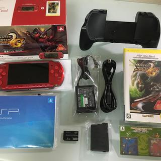 プレイステーションポータブル(PlayStation Portable)のほぼ新品 PSP-3000 新米ハンターズパック(携帯用ゲーム本体)