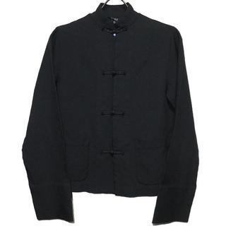 ブラックコムデギャルソン(BLACK COMME des GARCONS)のブラックコムデギャルソン 17SS ポリチャイナジャケット XS 新品(ブルゾン)
