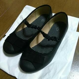 ジーユー(GU)のGU バレーシューズ 靴21cm フォーマル 入学式 結婚式など(フォーマルシューズ)