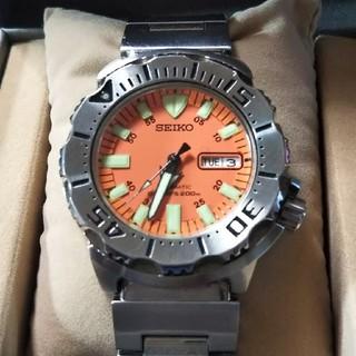 セイコー(SEIKO)のうりこ様専用 セイコー オレンジモンスター 200M 自動巻き (腕時計(アナログ))
