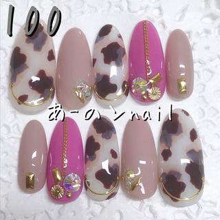 送料&カラー変更1色無料«100»ジェルネイルチップ♡*.