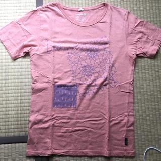 ゴーヘンプ(GO HEMP)のUA GO HEMP コラボTシャツ ピンク ゴーヘンプ(ミュージシャン)