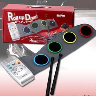 ロールアップドラム 8種の音色/デモ曲10曲/30種類のリズムパターン(電子ドラム)