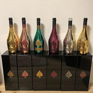 アルマンドバジ(Armand Basi)のアルマンド 6種類 ブラック以外 専用箱、カバー付き(シャンパン/スパークリングワイン)