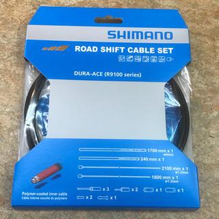シマノ(SHIMANO)のシマノ シフトケーブルセット(ポリマーコーティング仕様 デュラエース他対応品)(パーツ)