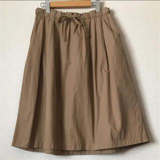 ムジルシリョウヒン(MUJI (無印良品))の無印良品 スカート 綿(ひざ丈スカート)