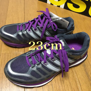アディダス(adidas)のアディダス ランニング シューズ 23cm(シューズ)
