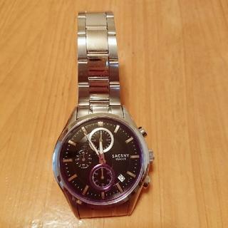 サクスニーイザック(SACSNY Y'SACCS)のメンズ腕時計(腕時計(デジタル))