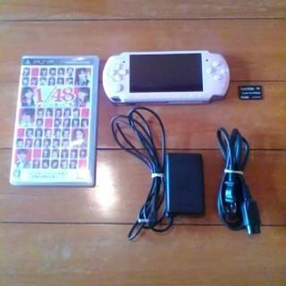 プレイステーションポータブル(PlayStation Portable)のpsp3000(携帯用ゲーム本体)