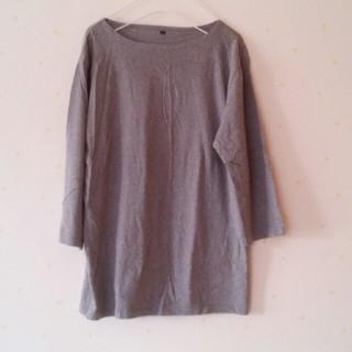 MUJI (無印良品) - 無印良品メンズLサイズ七分袖