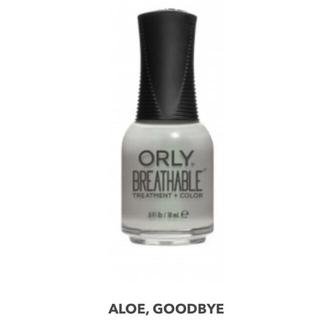 オーリー(ORLY)の【ハラール】Orly Breathable (Aloe, good bye)(マニキュア)