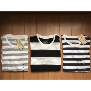 MUJI (無印良品) - ♡新品♡ 無印良品  ボーダーTシャツセット