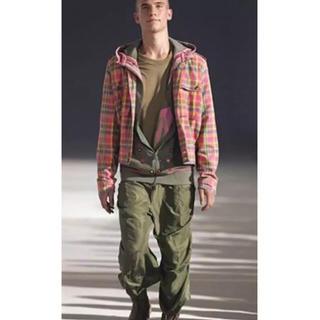 アレキサンダーマックイーン(Alexander McQueen)の希少2005SS アレキサンダーマックイーン刺繍パーカー(パーカー)