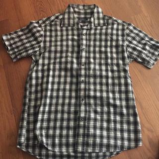 ネイビープロデュース(Navy produce)のメンズ 半袖チェックシャツ(シャツ)