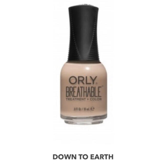 オーリー(ORLY)の【ハラール】Orly breathable (down to earth)(マニキュア)