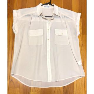 ジーユー(GU)のGU/透かしブラウス(シャツ/ブラウス(半袖/袖なし))