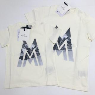 モンクレール(MONCLER)の新作 モンクレールキッズ  5A&12A カットソーTシャツ(カットソー(半袖/袖なし))