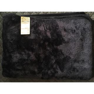 ムジルシリョウヒン(MUJI (無印良品))の片面フリース毛布 シングルサイズ(毛布)