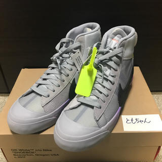 ナイキ(NIKE)のTHE TEN BLAZER MID NIKE OFF-WHITE(スニーカー)