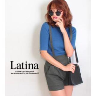 アナップラティーナ(ANAP Latina)のアナップ latina サスペンダー付きショートパンツ(ショートパンツ)