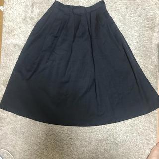 ムジルシリョウヒン(MUJI (無印良品))の無印良品のウールスカート(ひざ丈スカート)