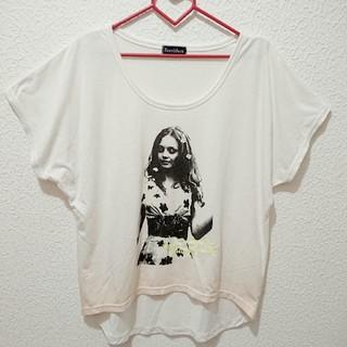 シマムラ(しまむら)の新品 同様! しまむら ロング Tシャツ♥️Lサイズ WEGO(Tシャツ(半袖/袖なし))