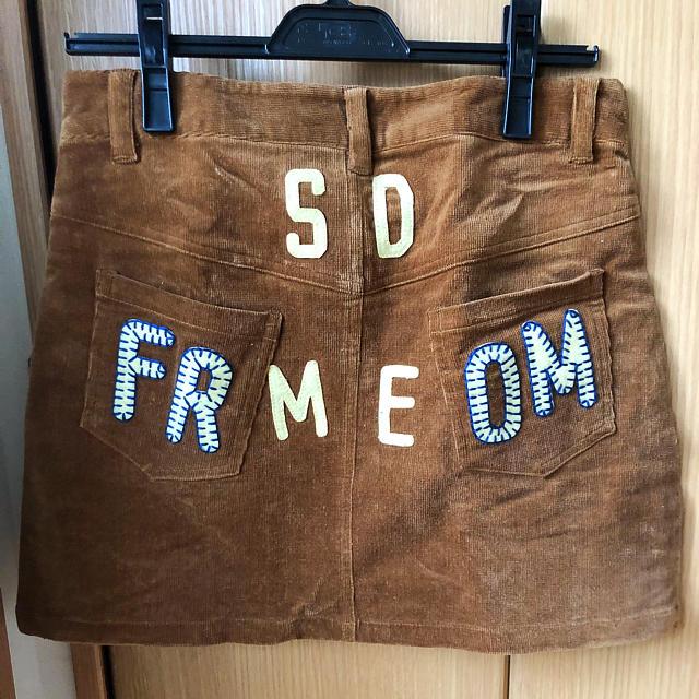 rough(ラフ)の⭐️美品です⭐️   rough   コーデュロイ スカート レディースのスカート(ミニスカート)の商品写真