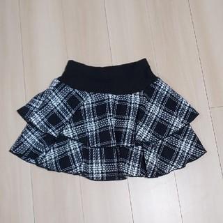 シマムラ(しまむら)の【未使用】チェックスカート(ミニスカート)