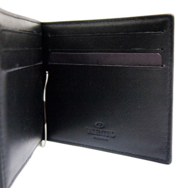 GIANNI VALENTINO(ジャンニバレンチノ)のVALENTINOロックスタッズ マネークリップ財布 メンズのファッション小物(マネークリップ)の商品写真